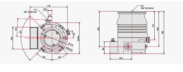 Pfeiffer涡轮分子泵 Hipace 10-800,抽速范围10-800l/s的全系列分子泵, 涡轮分子泵 Hipace 10-800 快速启动时间,集成控制器,带有多样化的接口-Profibus,DeviceNet或者E74。由于采用了革新的电子元器件材料,Pfeiffer 涡轮分子泵集成控制器的使用寿命比原来要长2倍。 分子泵 Hipace 10-800 l/s 产品优点: 1.